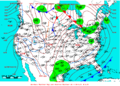 2007-01-17 Surface Weather Map NOAA.png