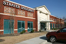 Strayer University in Morrisville, North Carolina.