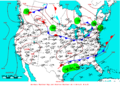 2009-07-07 Surface Weather Map NOAA.png
