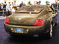 2009 gray Bentley Continental GT rear.JPG