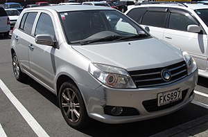 Geely - 2010 Geely MK (New Zealand)
