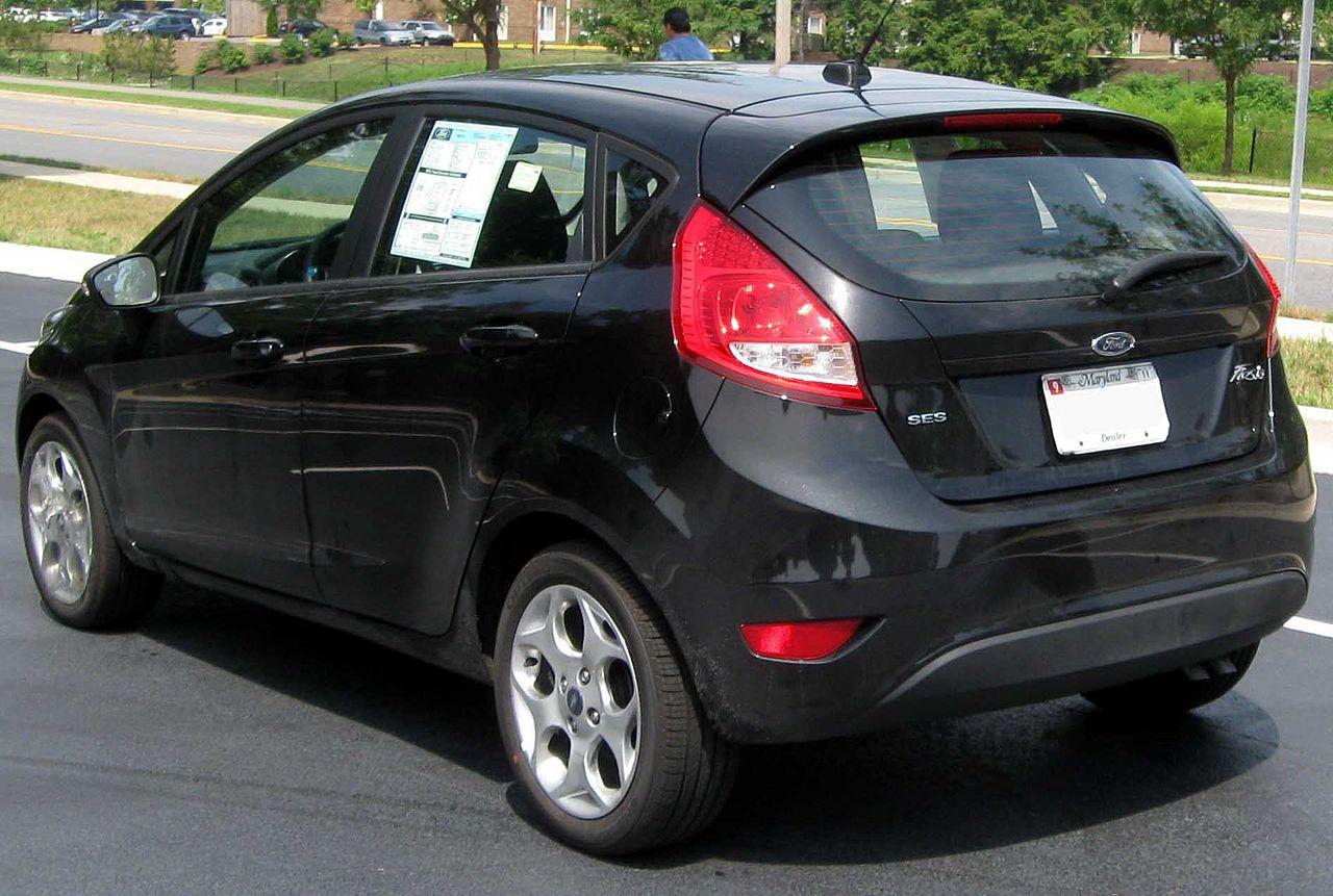 file 2011 ford fiesta ses hatchback rear 07 17. Black Bedroom Furniture Sets. Home Design Ideas