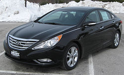 2011 Hyundai Sonata Limited (US)