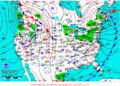 2012-02-25 Surface Weather Map NOAA.png