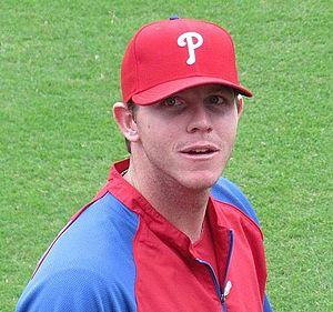 Justin De Fratus - Justin De Fratus during batting practice in Philadelphia on September 27, 2012