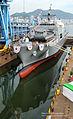 2013. 9. 천왕봉함 진수식 Rep. of Korea Navy ROK Ship Chunwangbong Launching Ceremony (9732842281).jpg