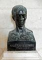 2014-09-27 Le Verdon, Gironde, phare de Cordouan, salle des rois, buste de Augustin Fresnel (1788-1827).JPG