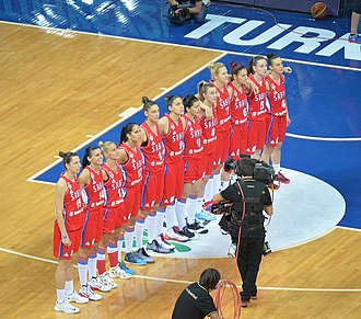Serbia women's national basketball team - Serbia squad at the 2014 FIBA World Championship for Women.