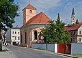 2014 Bystrzyca Kłodzka, kościół św. Jana Nepomucena 01.JPG