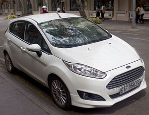 Supermini - Image: 2014 Ford Fiesta (WZ) 1.5 Sport Eco Boost 5 door hatchback (2015 12 23) 01
