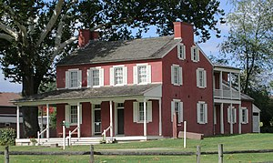 Landis Valley Museum - Image: 2014 Landis Valley Museum Building 7 Landis Valley Hotel from east