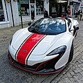 2014 McLaren MP4-12C Spider 3799 cc at Horsham English Festival 2018.jpg
