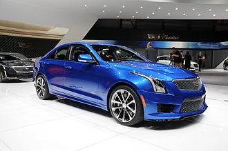 Cadillac ATS-V - Image: 2015 03 03 Geneva Motor Show 5824