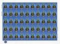 2015. ДНР. Стандарт. Герб Донецка. Лист из 50 марок.jpg