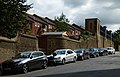 2015 London-Woolwich, Red Barracks wall 09.JPG