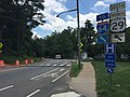 2016-06-03 14 07 48 View south along U.S. Route 29 Business (Emmet Street) at Stadium Road within the University of Virginia in Albemarle County, Virginia.jpg