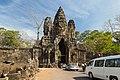 2016 Angkor, Angkor Thom, Brama południowa (27).jpg
