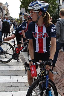 Katie Hall (cyclist) American bicycle racer