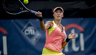 Sophie Chang - Sophie Chang in the 2017 Citi Open