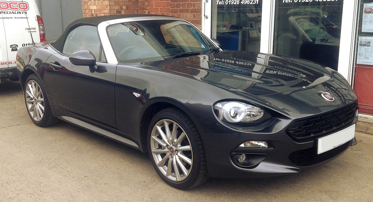 fiat 124 spider 2016 wikipedia. Black Bedroom Furniture Sets. Home Design Ideas