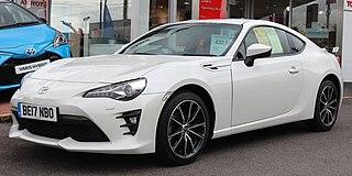 Toyota 86 Motor vehicle