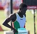 2018-10-16 Stage 2 (Boys' 400 metre hurdles) at 2018 Summer Youth Olympics by Sandro Halank–043.jpg
