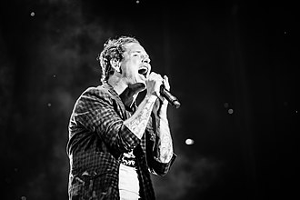 Corey Taylor - Taylor performing with Stone Sour in June 2018