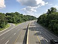 2019-07-05 17 36 23 View south along Interstate 270 Spur from the overpass for Democracy Boulevard along the edge of North Bethesda and Potomac in Montgomery County, Maryland.jpg