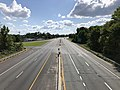 2019-08-25 15 47 57 View west along U.S. Route 40 (Pulaski Highway) from the overpass for Maryland State Route 700 (Martin Boulevard) on the edge of Middle River and Rossville in Baltimore County, Maryland.jpg