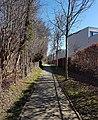 2019 Maastricht-Vroendaal, voetpad langs Kloostertuin Opveld (1).jpg