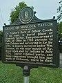 2021-09-19 Hancock Taylor Marker Richmond KY.jpg