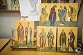24 июня 2017, Смотр семестровых и выпускных работ на иконописном отделении 24 June 2017, Semester and final works of the Iconographic Department review (35336001822).jpg