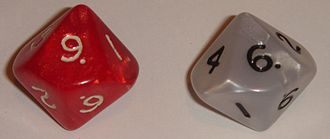 Middle-earth Role Playing - MERP uses two ten-sided dice