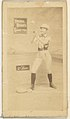 2nd Base, from the Girl Baseball Players series (N48, Type 2) for Virginia Brights Cigarettes MET DP827394.jpg