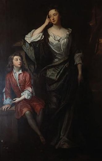 Henry Bennet, 1st Earl of Arlington - Arlington's only daughter Isabella and her son Charles FitzRoy, 2nd Duke of Grafton