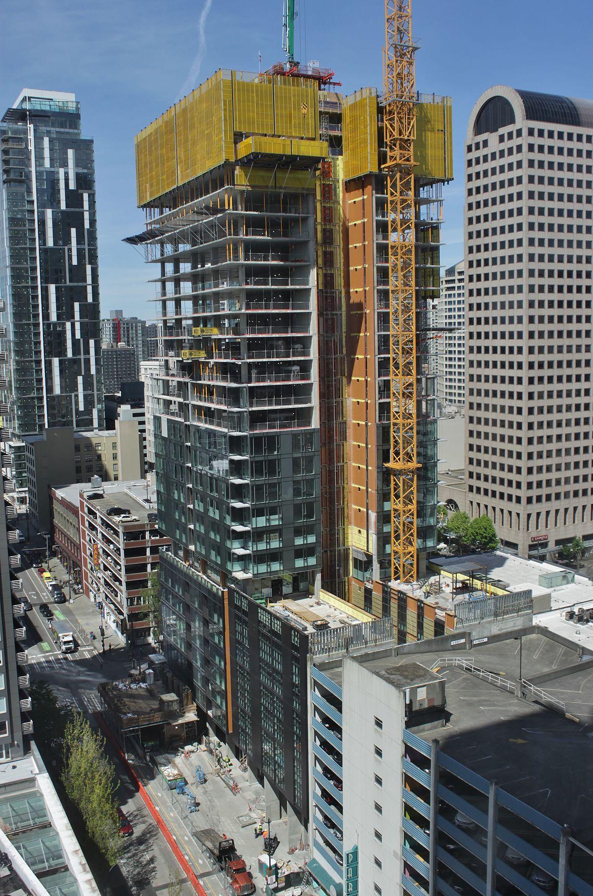 100 Insignia Seattle Floor Plans 1001 John St U2013