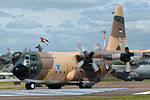 346 Lockheed C-130H Hercules Jordan - Air Force (15072838366).jpg
