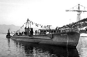 Italian submarine Scirè (1938) - RIN Scire