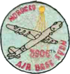 Emblem of the 3906th Air Base Squadron