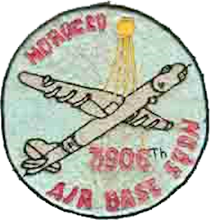 Sidi Slimane Air Base - Emblem of the 3906th Air Base Squadron