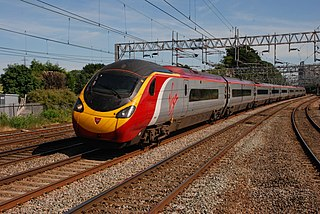 British Rail Class 390 A type of electric high-speed train operated by Avanti West Coast
