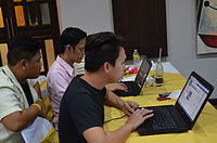 3rd Waray Wikipedia Edit-a-thon 13.JPG