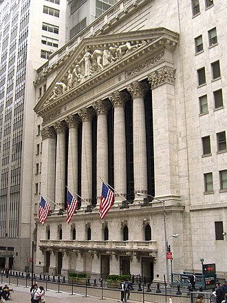 United States corporate law - The New York Stock Exchange is the major center for listing and trading shares in United States. Most corporations are, however, incorporated under the influential Delaware General Corporation Law.