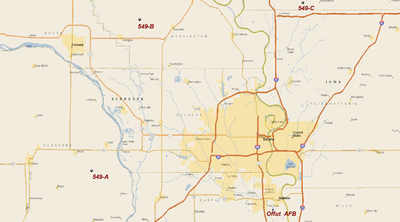 549th Strategic Missile Squadron - SM-65D Atlas Missile Sites