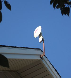 Motorola Canopy - A 5.2 GHz Subscriber Module with a 'Stinger' Passive Antenna