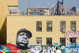 5 Pointz - Mural of The Notorious B.I.G. at 5 Pointz