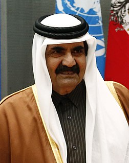 Hamad bin Khalifa Al Thani Emir of Qatar