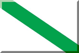 1915 Uruguayan Primera División - Image: 600px Bianco con diagonale Verde 2