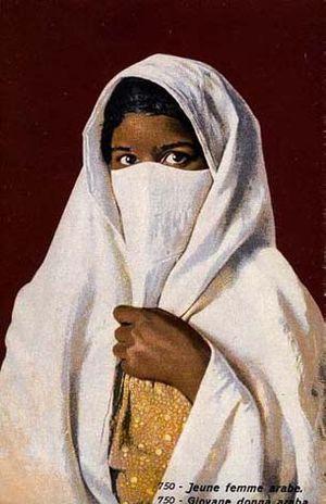 750 - Young Arab woman.