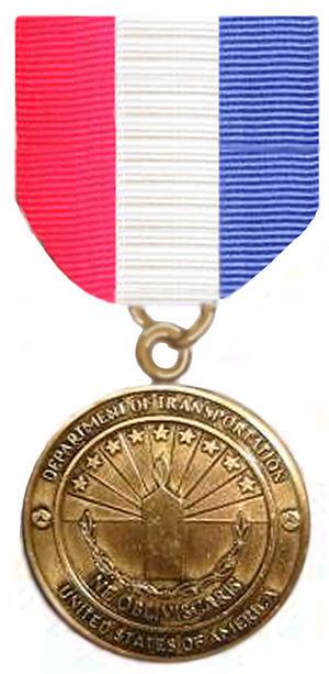 Transportation 9-11 Medal - Image: 911Medal